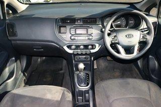 2012 Kia Rio UB S Silver 4 Speed Automatic Hatchback