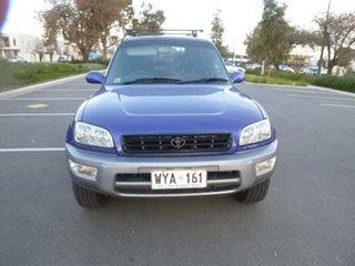 1999 Toyota RAV4 SXA11R Cruiser Blue Manual Wagon.