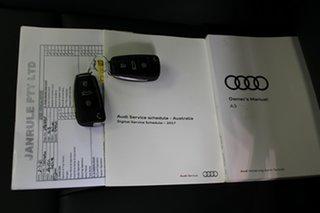 2018 Audi S3 8V MY18 Black Edition Sportback S Tronic Quattro Silver 7 Speed.