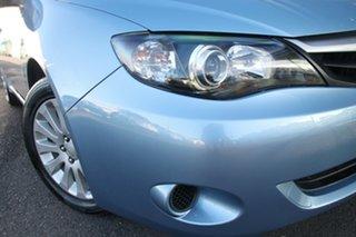 2011 Subaru Impreza G3 MY11 R AWD Blue 4 Speed Sports Automatic Hatchback.