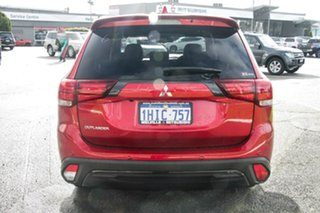2021 Mitsubishi Outlander ZL MY21 Black Edition 2WD Red Diamond 6 Speed Constant Variable Wagon.