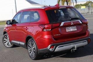 2018 Mitsubishi Outlander ZL MY19 ES ADAS 5 Seat (2WD) Red Continuous Variable Wagon.