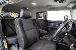 2014 Toyota FJ Cruiser GSJ15R MY14 Blue 5 Speed Automatic Wagon