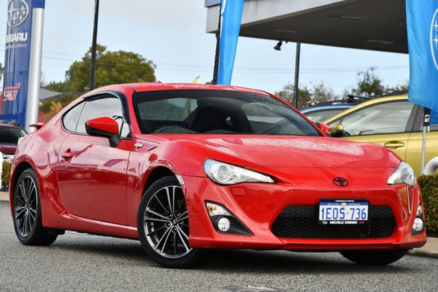 Used Toyota 86 ZN6 GTS Melville, 2014 Toyota 86 ZN6 GTS Red 6 Speed Manual Coupe