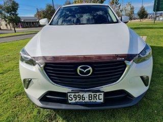 2017 Mazda CX-3 DK2W7A Maxx SKYACTIV-Drive Snowflake White 6 Speed Sports Automatic Wagon
