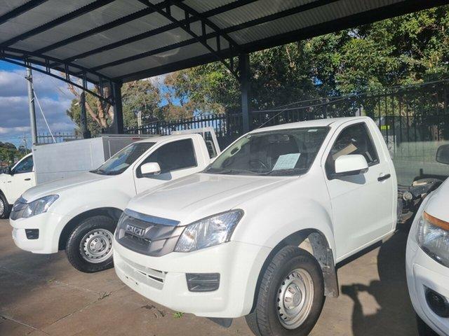 Used Isuzu D-MAX TF MY15.5 SX HI-Ride (4x2) Bankstown, 2016 Isuzu D-MAX TF MY15.5 SX HI-Ride (4x2) White 5 Speed Automatic Cab Chassis