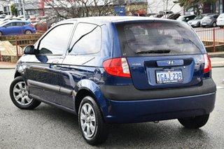 2008 Hyundai Getz TB MY07 SX Blue 4 Speed Automatic Hatchback.