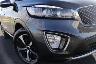 2017 Kia Sorento UM MY17 SLi (4x4) Grey 6 Speed Automatic Wagon.