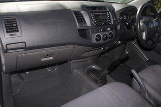 2012 Toyota Hilux KUN16R MY12 SR 4x2 Glacier 5 speed Manual Cab Chassis