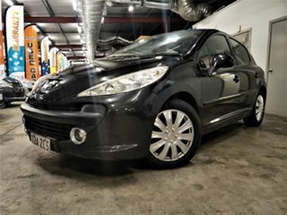 2007 Peugeot 207 A7 XE Black 4 Speed Sports Automatic Hatchback