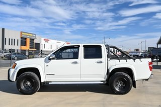 2009 Holden Colorado RC MY09 LT-R Crew Cab 4x2 White 4 Speed Automatic Utility