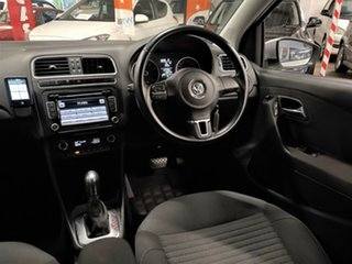 2013 Volkswagen Polo 6R MY13.5 77TSI DSG Comfortline Metallic Silver 7 Speed