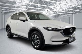 2018 Mazda CX-5 MY17.5 (KF Series 2) Maxx (4x2) Snowflake White 6 Speed Automatic Wagon.