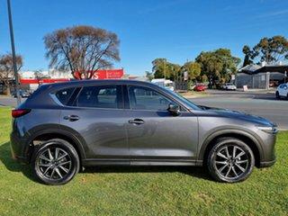 2017 Mazda CX-5 KF4WLA GT SKYACTIV-Drive i-ACTIV AWD Machine Grey 6 Speed Sports Automatic Wagon.