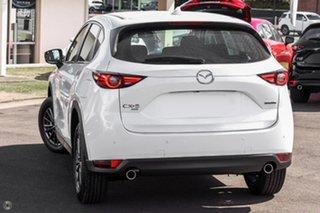 2021 Mazda CX-5 KF4WLA Maxx SKYACTIV-Drive i-ACTIV AWD Sport White 6 Speed Sports Automatic Wagon