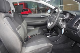 2014 Hyundai i20 PB MY14 Active Coral White 4 Speed Automatic Hatchback