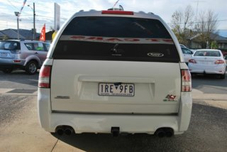 2009 Holden Commodore VE MY10 SS White 6 Speed Automatic Utility