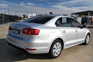2013 Volkswagen Jetta 1B MY13.5 118TSI DSG Silver 7 Speed Sports Automatic Dual Clutch Sedan