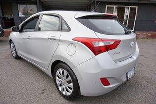 2012 Hyundai i30 GD Active Sleek Silver 6 Speed Manual Hatchback.