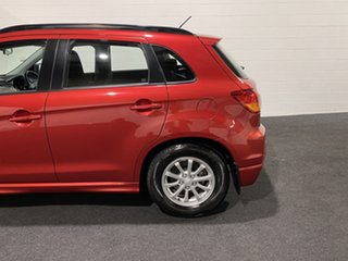 2011 Mitsubishi ASX XA MY12 Red 6 Speed Manual Wagon
