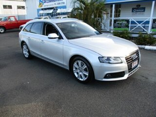 2010 Audi A4 Silver 6 Speed Auto Active Select Wagon.