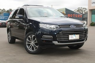 2013 Ford Territory SZ Titanium (4x4) Blue & Black 6 Speed Automatic Wagon.