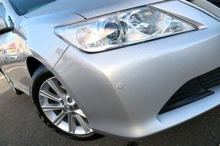 2017 Toyota Aurion GSV50R AT-X Silver Pearl 6 Speed Sports Automatic Sedan.