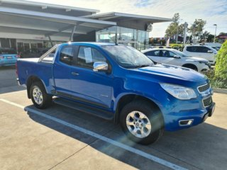 2013 Holden Colorado RG MY14 LTZ Space Cab Blue 6 Speed Sports Automatic Utility.