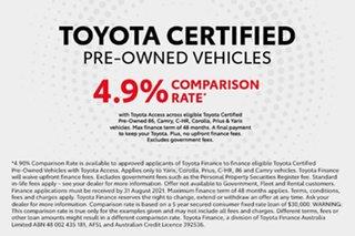 2017 Toyota C-HR NGX10R S-CVT 2WD Shadow Platinum 7 Speed Constant Variable Wagon.