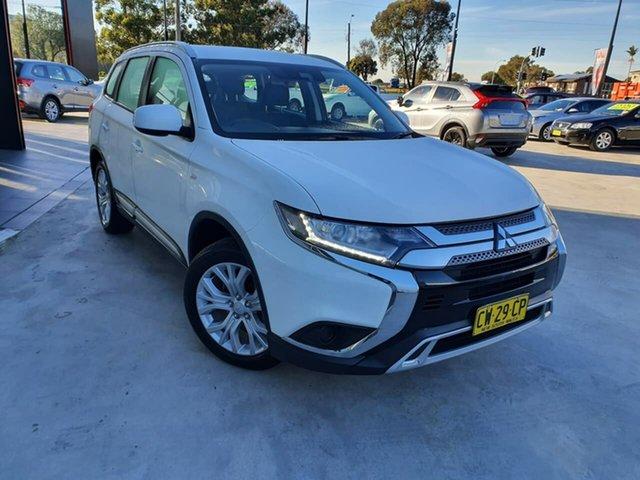 Used Mitsubishi Outlander ZL MY19 ES 2WD Liverpool, 2019 Mitsubishi Outlander ZL MY19 ES 2WD White 6 Speed Constant Variable Wagon
