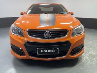 2013 Holden Commodore VF MY14 SV6 Orange 6 Speed Sports Automatic Sedan.