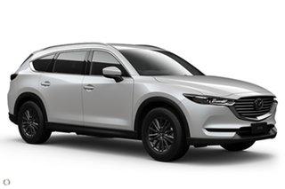 2021 Mazda CX-8 KG2WLA Sport SKYACTIV-Drive FWD White 6 Speed Sports Automatic Wagon