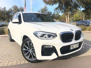 2019 BMW X3 G01 xDrive30i Steptronic White 8 Speed Automatic Wagon.