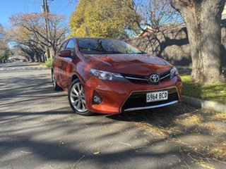 2013 Toyota Corolla ZRE182R Levin S-CVT SX Inferno Red 7 Speed Constant Variable Hatchback.
