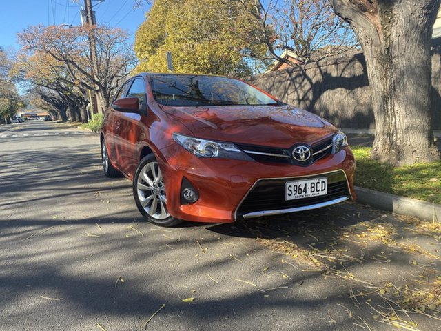 Pre-Owned Toyota Corolla ZRE182R Levin S-CVT SX Hawthorn, 2013 Toyota Corolla ZRE182R Levin S-CVT SX Inferno Red 7 Speed Constant Variable Hatchback