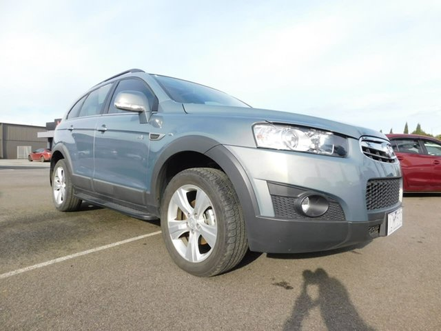 Pre-Owned Holden Captiva CG Series II MY12 7 AWD CX Wonthaggi, 2012 Holden Captiva CG Series II MY12 7 AWD CX Silver 6 Speed Sports Automatic Wagon