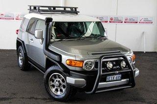 2012 Toyota FJ Cruiser GSJ15R Titanium/White Roof 5 Speed Automatic Wagon.