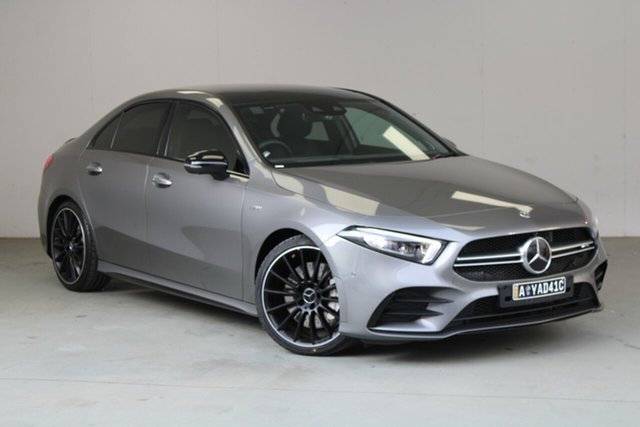 Used Mercedes-Benz A-Class V177 800+050MY A35 AMG SPEEDSHIFT DCT 4MATIC Phillip, 2019 Mercedes-Benz A-Class V177 800+050MY A35 AMG SPEEDSHIFT DCT 4MATIC Grey 7 Speed