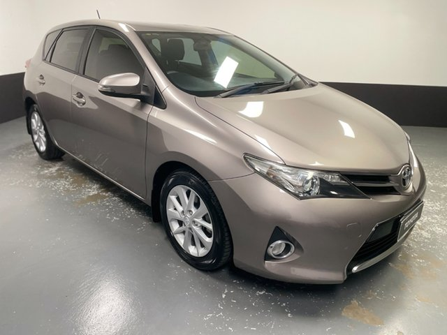 Used Toyota Corolla ZRE182R Ascent Sport Raymond Terrace, 2014 Toyota Corolla ZRE182R Ascent Sport Bronze 6 Speed Manual Hatchback