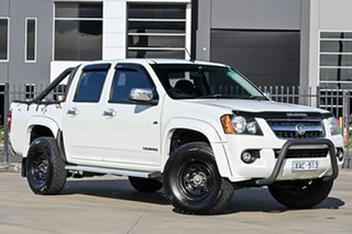 2009 Holden Colorado RC MY09 LT-R Crew Cab 4x2 White 4 Speed Automatic Utility.
