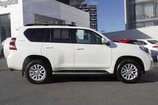 2015 Toyota Landcruiser Prado GDJ150R VX White 6 Speed Sports Automatic Wagon