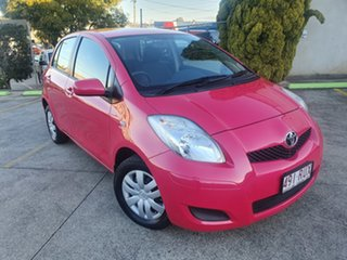2011 Toyota Yaris NCP90R MY11 YR Pink 4 Speed Automatic Hatchback.