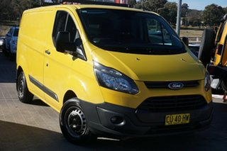 2014 Ford Transit Custom VN 290S Low Roof SWB Yellow 6 Speed Manual Van.