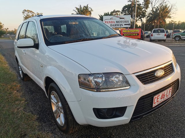 Used Ford Territory SY MkII TS RWD Pinelands, 2010 Ford Territory SY MkII TS RWD White 4 Speed Sports Automatic Wagon