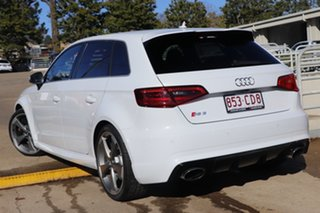 2016 Audi RS 3 8V MY16 Sportback S Tronic Quattro White 7 Speed Sports Automatic Dual Clutch