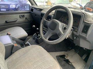 1989 Nissan Patrol GQ ST (4x4) Blue 5 Speed Manual 4x4 Wagon