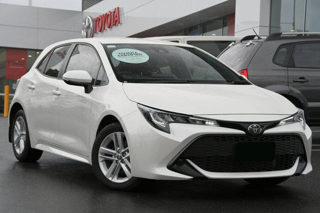 Pre-Owned Toyota Corolla Mzea12R Ascent Sport Woolloongabba, 2020 Toyota Corolla Mzea12R Ascent Sport Glacier White 10 Speed Constant Variable Hatchback