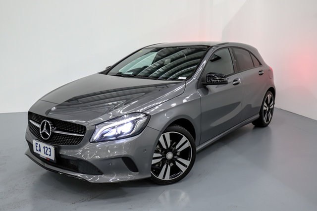 Used Mercedes-Benz A-Class W176 807MY A200 d D-CT Canning Vale, 2017 Mercedes-Benz A-Class W176 807MY A200 d D-CT Grey 7 Speed Sports Automatic Dual Clutch