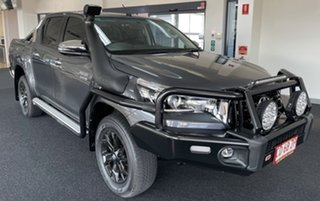 2019 Toyota Hilux GUN126R SR5 Double Cab Charcoal 6 Speed Sports Automatic Utility.
