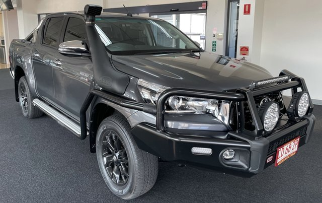 Used Toyota Hilux GUN126R SR5 Double Cab Winnellie, 2019 Toyota Hilux GUN126R SR5 Double Cab Charcoal 6 Speed Sports Automatic Utility